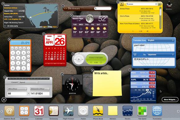 OS X Dashboard
